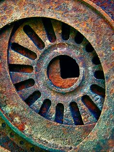 David Derr's Photo Gallery (Rust) - The Art Workshop Rusted Metal, Metal Art, Foto Macro, Rust Never Sleeps, Rust Paint, Rust In Peace, Peeling Paint, Industrial Photography, Texture Art
