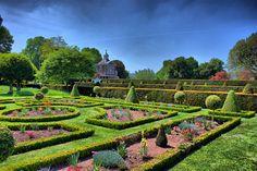 Garden of Westbury Court.