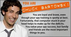 Of course I'm Chuck Bartowski!