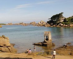 #Ploumanac'h : une magnifique #plage en #Bretagne