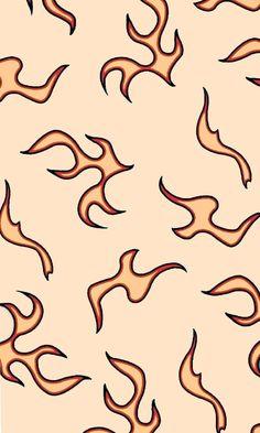 Wallpaper Pastel, Butterfly Wallpaper Iphone, Trippy Wallpaper, Cute Patterns Wallpaper, Iphone Background Wallpaper, Retro Wallpaper, Hippie Wallpaper, Fabric Wallpaper, Wallpaper Quotes