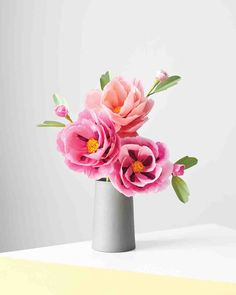 How to Make Paper Flowers: Peony