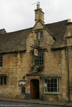 Ox Cot red lion chipping campdem