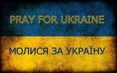 Dear colleagues, please pray for Ukraine! We need your support.