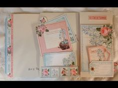 Pocket Page tutorial for the 8 1/4 x 5 Time to Flourish year book journal by Anne Rostad