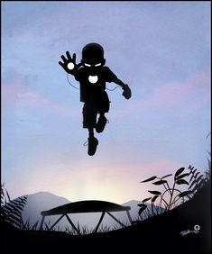 I absolutely love this.  Playground heroes by Andy Fairhurst.