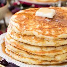 Buttermilk Pancake Recipe For One. Blueberry Buttermilk Oat Flour Pancakes And Buttermilk . Simple Pancake Recipe How To Make Pancakes. Home and Family How To Make Pancakes, Pancakes Easy, Breakfast Pancakes, Pancakes And Waffles, Breakfast Dishes, Breakfast Recipes, Pancake Recipes, Breakfast Ideas, Morning Breakfast