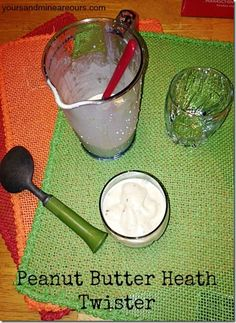Peanut Butter Heath Twister - Yours And Mine Are Ours