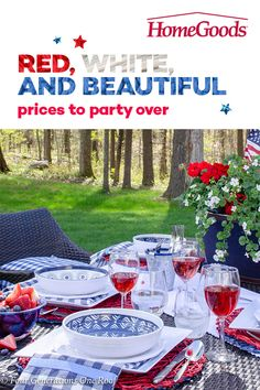 Find everything you need to host the hottest outdoor parties this summer season and save on all entertaining essentials. 4th Of July Celebration, 4th Of July Party, Fourth Of July, Home Improvement Financing, Shabby Chic Decor, Decor Rustic, Boho Home, 4th Of July Decorations, Outdoor Parties