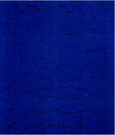 Yves Klein, is there more bleu?