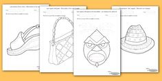 Exercices Maternelle motricité fine par le dessin a imprimer - Décoration pour le développement de la motricité fine chez l'enfant. Exercices motricité fine.