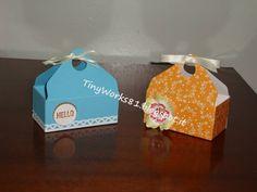 Scatolina in cm con Envelope punch board