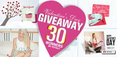 http://www.sheinside.com/giveaway-a-436.html?url_from=ww0106  Hurry 2014 Valentine's Day! Sheinside has prepared a big surprise for all of you! 30 gift cards in total! Ends on Feb 7. Get your paws on our six different platforms!