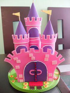 Como hacer un castillo de princesas en foami - Imagui