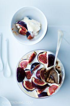 Figs & yogurt are a fabulous combination.