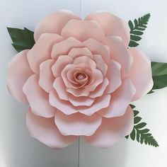 SVG Petal 19 Template for DIY Giant Paper Flowers w/ Rose   Etsy