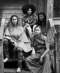 12 of the Blackest Hairstyles from #Beyonce's #Lemonade Visual Album on #bglh by blackgirlwithlonghair