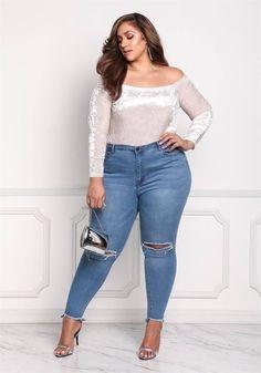 Curvy Women Fashion, Fashion Models, Fashion Men, Fashion Edgy, Trendy Plus Size, Plus Size Tops, Plus Size Dresses, Plus Size Outfits, Summer Dress