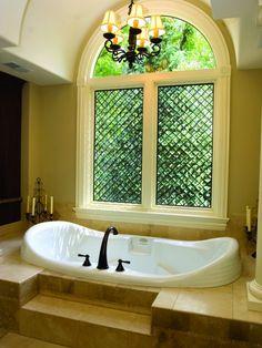 23 Luxurious DIY Bathroom Ideas You Will Love - Thrillbites - Traditional Bath Mold In Bathroom, Diy Bathroom, Bathroom Windows, Bathroom Styling, Bathroom Interior Design, Bathroom Ideas, Bath Window, Bathroom Colors, Bathroom Lighting