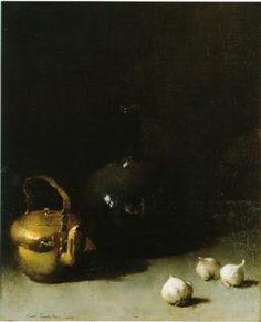 Emil Carlsen-Still Life with Garlic