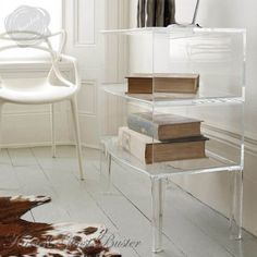 Kartell Ghost Buster Side Table by Philippe Starck