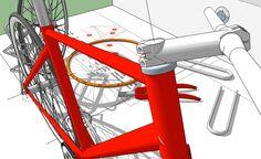 #sketchup #buildabike #bikecomponent #stem #handlebar