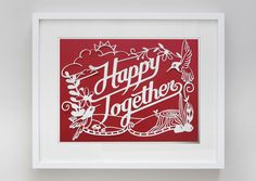 Happy Together by Karen To, via Behance