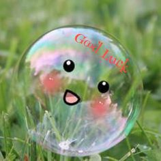 Kawaii bubble discovered by SugarCrush on We Heart It Single And Happy, My Bubbles, Soap Bubbles, Cute Wallpapers, Make Me Smile, Are You Happy, Happy Dp, Happy Life, Cute Pictures