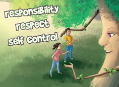 What if, childrens character education picture book teaching responsibility, respect, self control, empathy