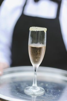Sparkling Rose with a Sugar in the Raw rim  |  Photography by Richard Israel