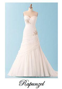 Wedding Dresses inspired by Disney Princess #Rapunzel