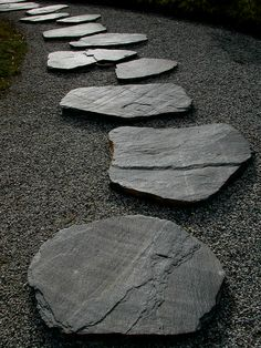 Rocks in a Zen garden represent islands, mountains, or other land mass. They symbolize calmness and mindfulness.