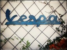 Giant Vespa Scooter Wood Signs Vintage Rustic Style Home Decor Man Cave Wall Art
