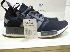 low priced f84b3 d18e6 Adidas NMD Runner Pk S31523 Core Black Grey white casual shoes Sneaker