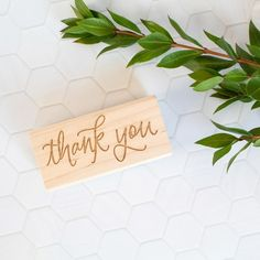 Hand lettered thank you rubber stamp for card making, gift tags and other lovely thank yous. Thank You Kindly, Sushi Design, Artist At Work, Gift Tags, Hand Lettering, My Design, Card Making, Stamp, Ink