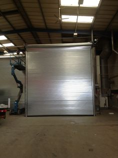 Large insulated oven roller shutter in Yaxley, Peterborough