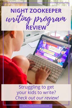 Struggling to get your kids to write? Need a tool to use in your homeschool to encourage writing? Read my review on Night Zookeeper and learn how this online platform has my kids begging to write! Writing Practice, Teaching Writing, In Writing, Writing Prompts, Writing Programs, Writing Assignments, Book Log, Confidence Boosters, Online Programs