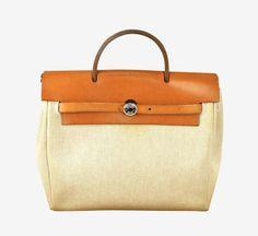 Hermès Beige Backpack