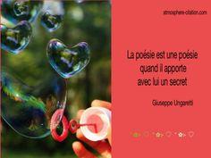 La poésie est une poésie quand il apporte avec lui un secret  Trouvez encore plus de citations et de dictons sur: https://www.atmosphere-citation.com/amour/la-poesie-est-une-poesie-quand-il-apporte-avec-lui-un-secret.html?
