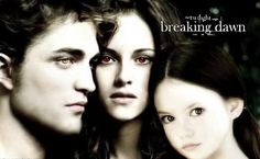 Breaking Dawn Yes, I'm a fan and I can't wait till this comes out. Grandma, I wish you were still here to see the last one with me.
