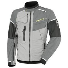 Scott Sports Concept VTD Jacket -- Scott Sports' sport-fit Concept VTD Jacket is built around a modular system to maximise usability and versatility. Rider crash protection comes from SAS-TEC protectors positioned at the shoulder and elbow. For warm weather riding chest, back, and sleeve ventilation is provided by a closure magnetic system and standard zippers to help increase comfort. The jacket is made from a TwinHD polyamide fabric with a weatherproof DWR finishing.