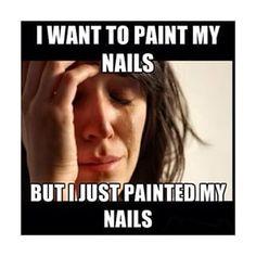 nail polish meme - Google Search