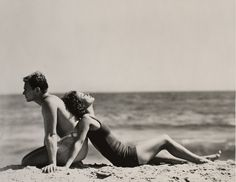 Nickolas Muray (EE. UU., de origen húngaro, 1892 - 1965). Joan Crawford y Douglas Fairbanks Jr., Santa Mónica, California, 1929