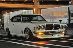 DUAL FACTORY 日産 610 ブルーバード // 大黒PA DUAL FACTORY Nissan 610 Bluebird // at Daikoku PA