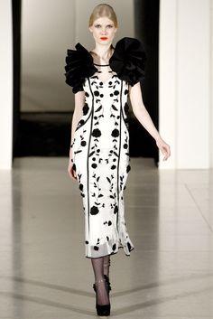 Temperley London Fall 2011 Ready-to-Wear Fashion Show - Marie Lunde Fossdal