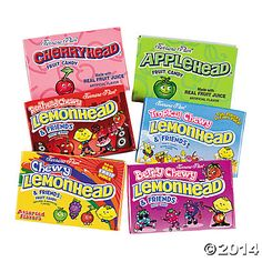Ferrara Pan® Lemonhead® & Friends Variety Pack 20 cents a piece