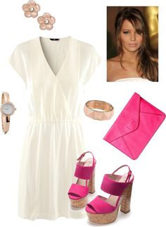 """""""Flirty Summer Date Outfit"""" by ingridlifestyle on Polyvore"""