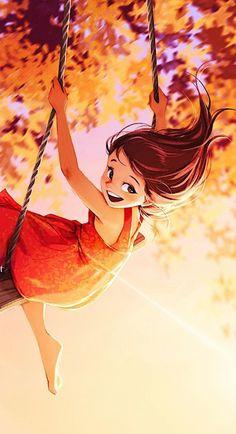 Cartoon Girl Images, Cartoon Pics, Girl Cartoon, Cartoon Art, Anime Girl Drawings, Anime Couples Drawings, Disney Drawings, Alone Art, Friend Anime