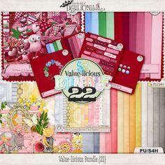 Value-licious Bundle 22 by Digilicious Designs   #digiscrap #theStudio #Digilicious