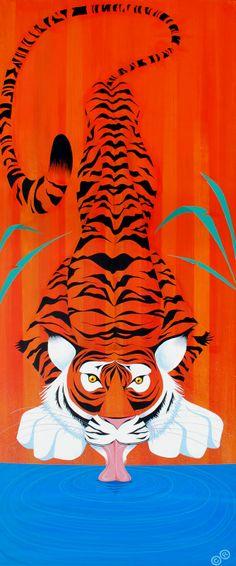 Indian tiger (by Carlos Ramos)